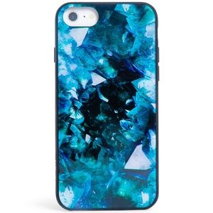 iPhone 8/7/6 case crystal geode💙